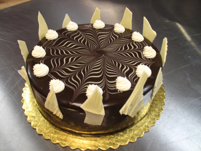 """8"""" Marble Mousse Cake"""